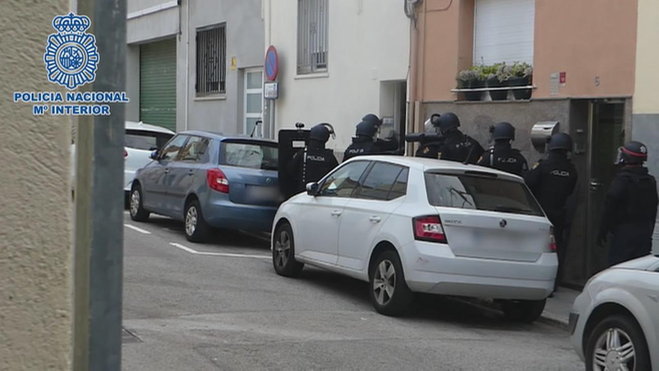Desarticulada una violenta banda que robó dos joyerías en Madrid
