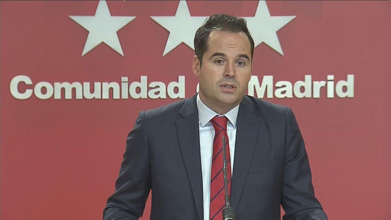 Ignacio Aguado, vicepresidente dela Comunidad de Madrid