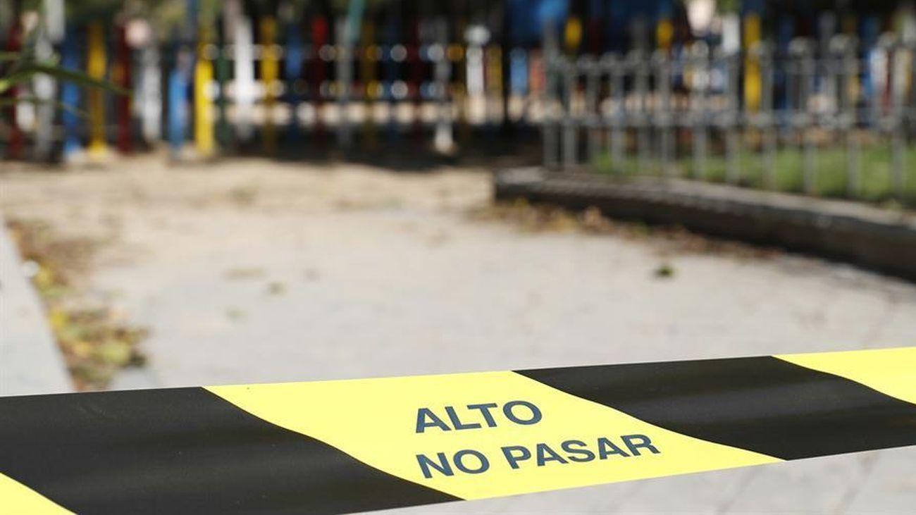 Madrid, con restricciones para evitar contagios de coronavirus