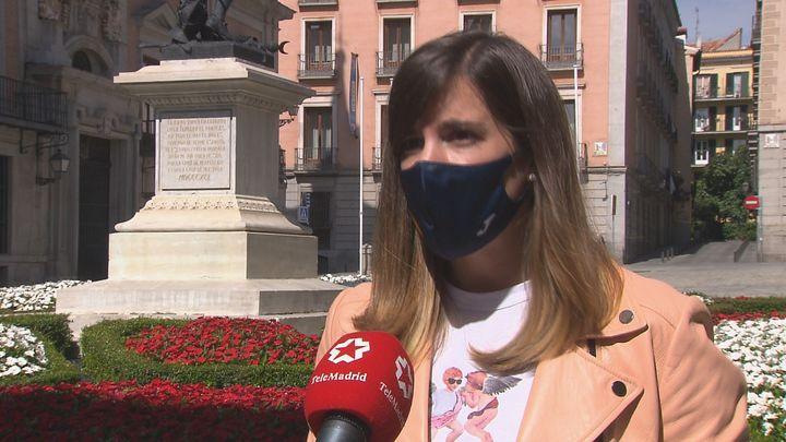 Sofía Miranda presenta el 'Homenaje a las Medallistas Olímpicas Madrileñas'
