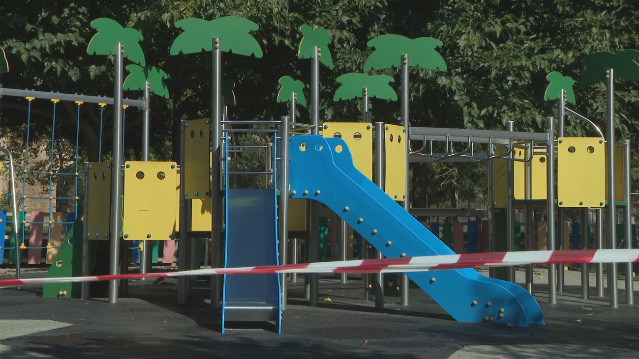 Comienzan una recogida de firmas en Chamberí para la reapertura de los parques infantiles