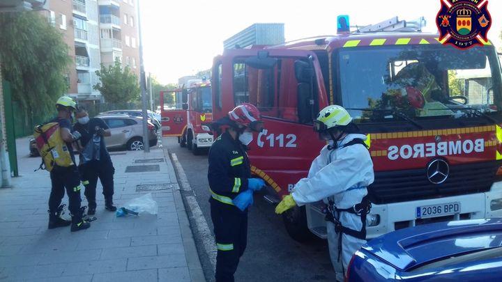 18 bomberos de baja en Alcorcón, con 5 positivos y el resto en cuarentena