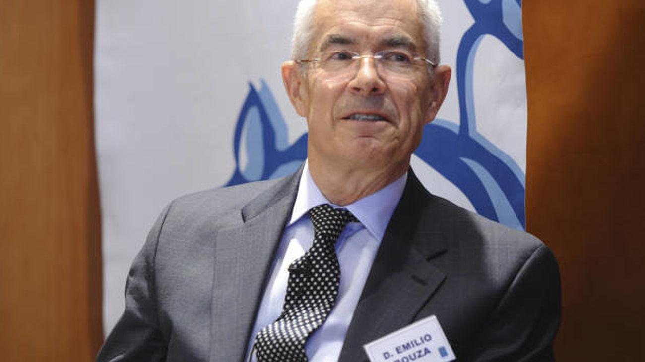 Emilio Bouza, l portavoz del Grupo Covid-19