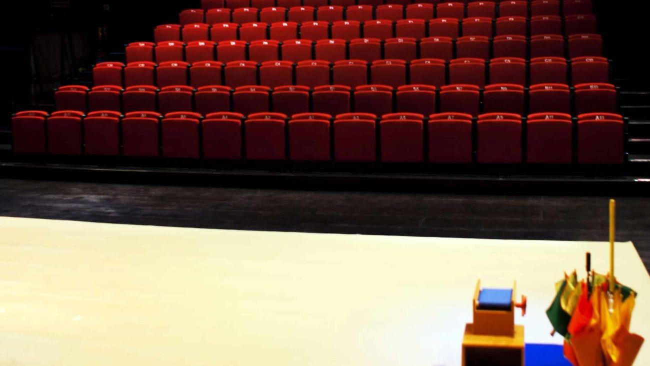 Interior de una de las salas de teatro de la Sala Cuarta Pared