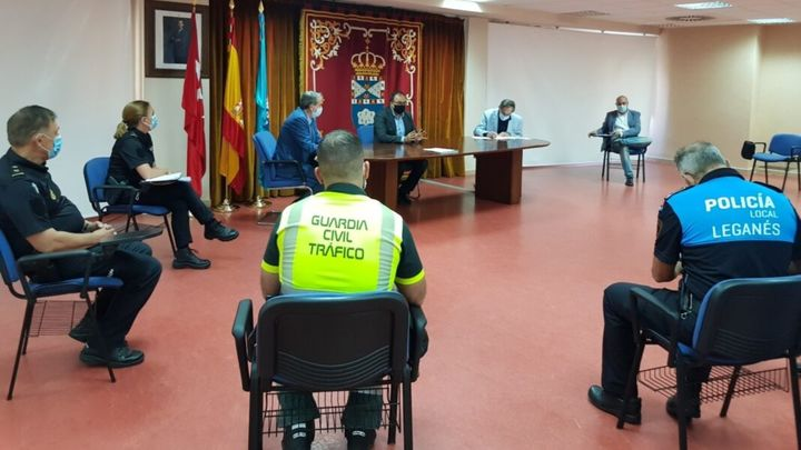 """Las fuerzas de seguridad de Leganés serán """"más incisivas"""" ante los incumplimientos sanitarios"""