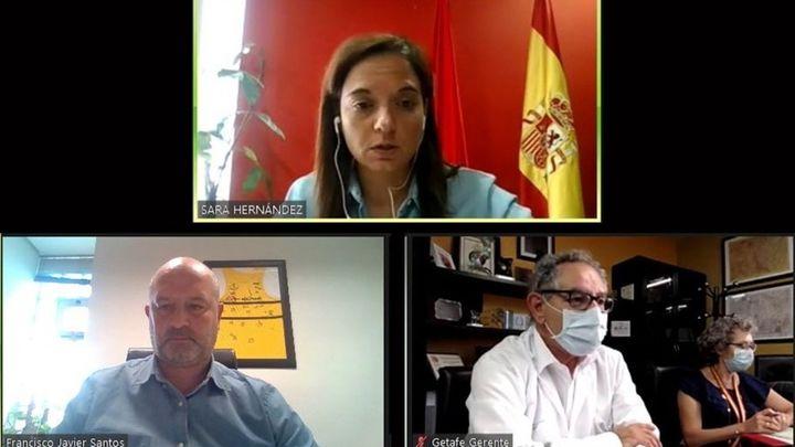 """Sara Hernández: """"La situación en Madrid está descontrolada por la improvisación del Gobierno regional"""""""