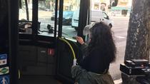 Increpada por intentar subir a un autobús sin mascarilla