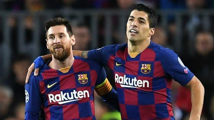 """Messi  despide a Suárez y arremete contra el Barça: """"No merecías que te echaran así"""""""