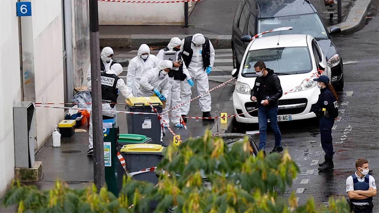 Detenido en París el autor principal del ataque con 2 heridos cerca la sede de 'Charlie Hebdo'