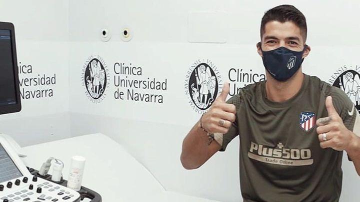 Luis Suárez da negativo y ya está disponible para Simeone