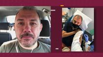 """Ernesto Herrera, voluntario de la vacuna contra la Covid-19: """"Por ahora no he tenido ningún síntoma extraño"""""""