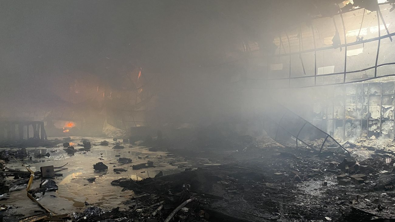 Incendio en la discoteca Diamond de Alcalá de Henares