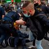Concentración en solidaridad por los detenidos en Vallecas