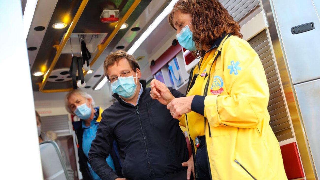 El Samur podrán realizar test de antígenos