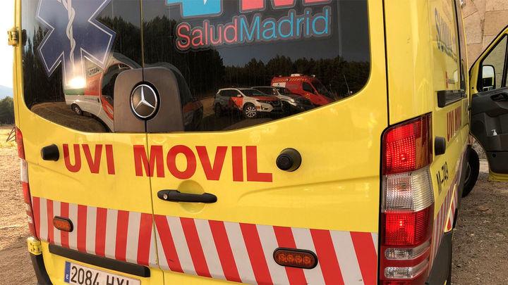 Herida muy grave una joven ciclista en una carretera de El Vellón