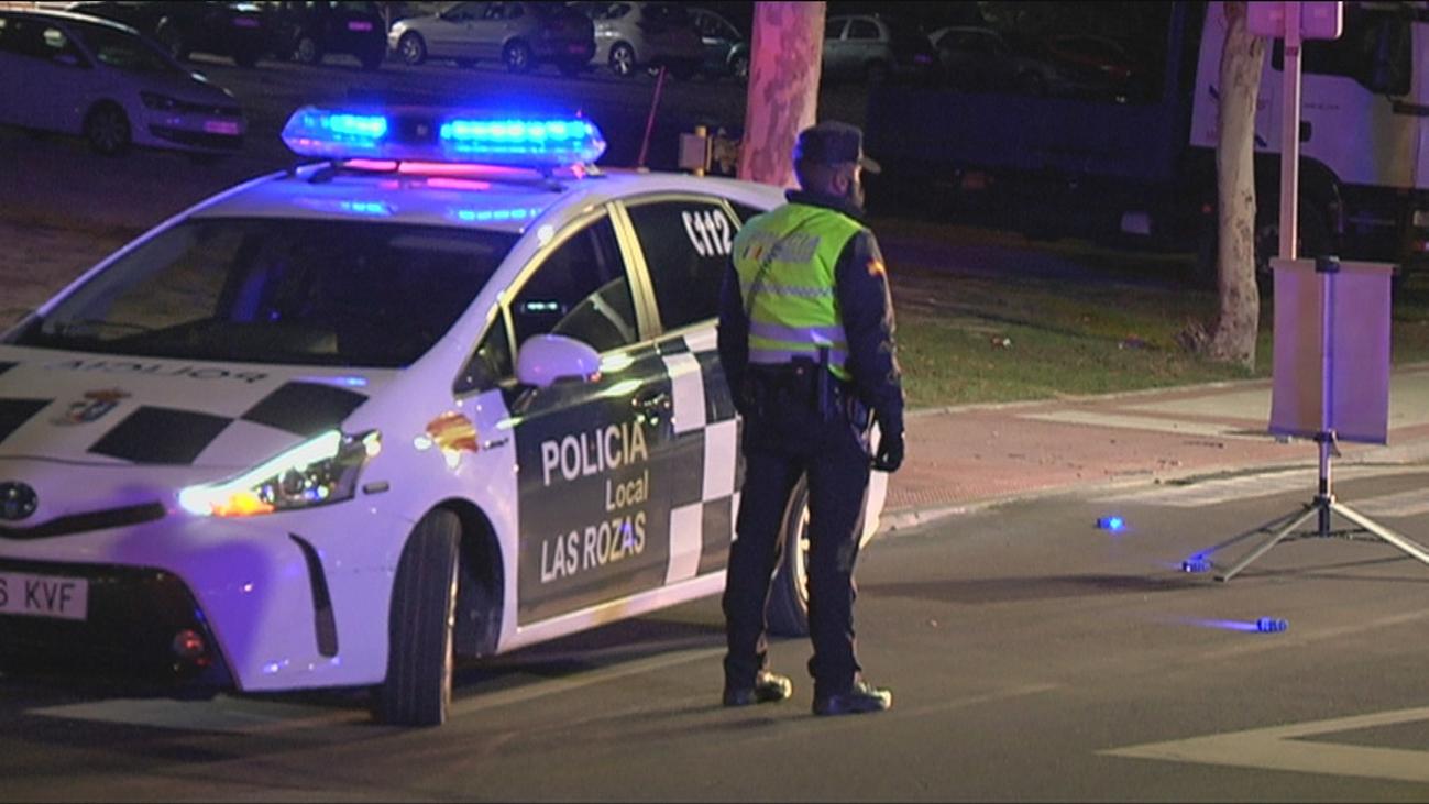 Acudimos a un patrullaje nocturno con la Policía Local de Las Rozas