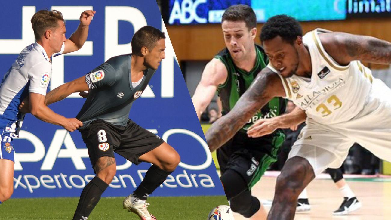 Ponferradina-Rayo Vallecano y Joventut-Real Madrid