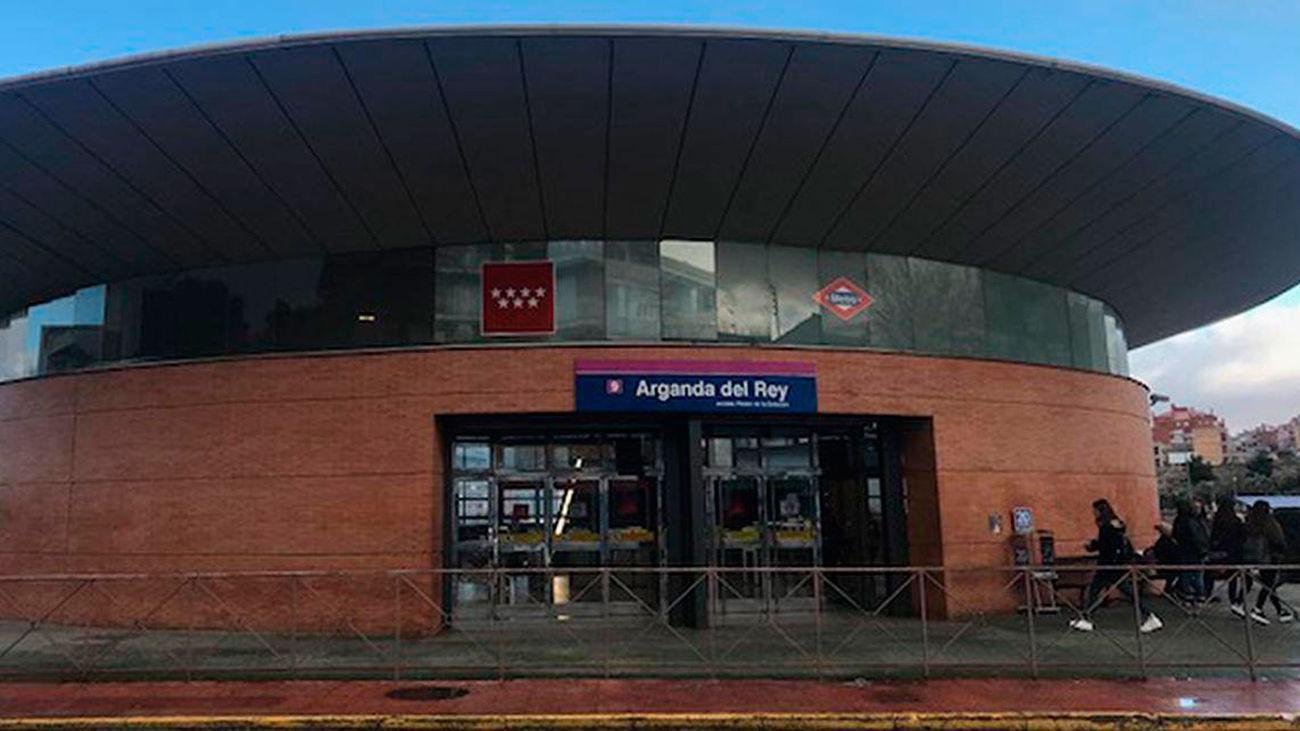 Estación de Metro en Arganda del Rey