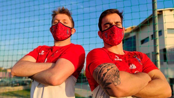 La Comunidad exime del uso de mascarilla a los equipos federados de ligas nacionales
