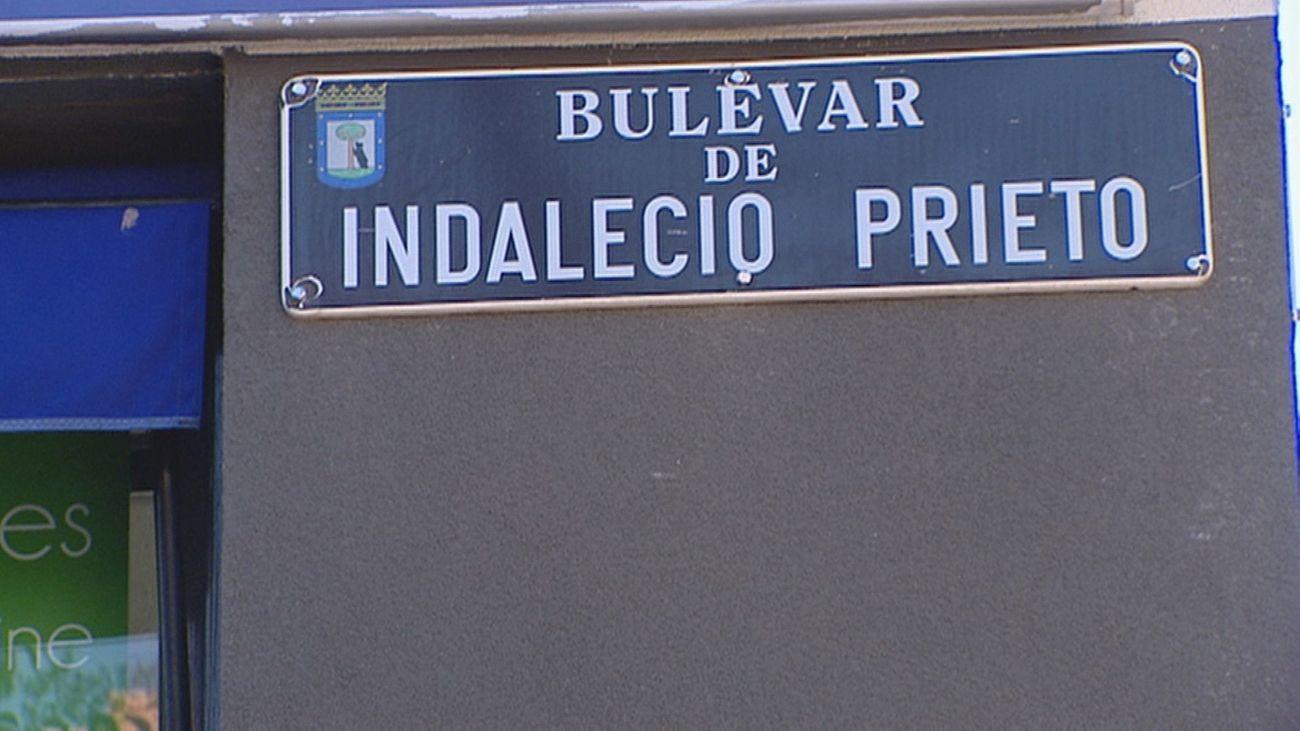 Bulevar Indalecio Prieto en el distrito de Vicálvaro