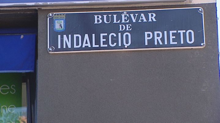 Madrid aprueba eliminar el nombre de Largo Caballero e Indalecio Prieto del callejero