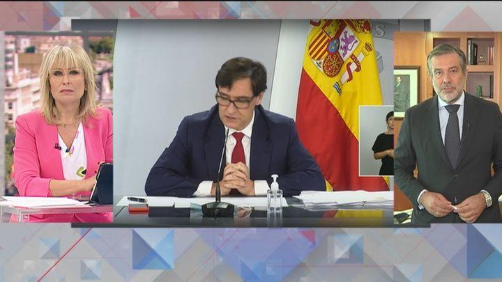 """Enrique López contesta a Illa: """"La situación en Madrid no está descontrolada"""""""