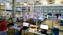 El gimnasio de La Paz vuelve a acoger a pacientes con coronavirus