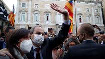 Torra pide una ley de amnistía y, por escrito, hablar de autodeterminación