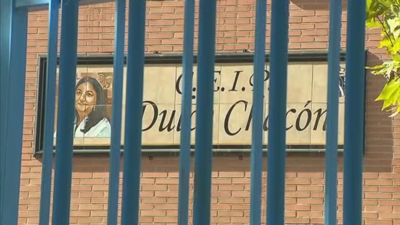 Controlan un brote con once infectados por covid-19 en el colegio Dulce Chacón de Fuenlabrada