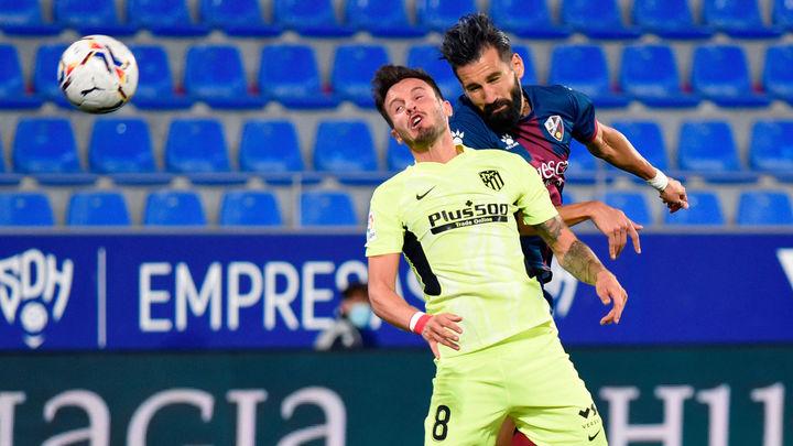 0-0. El Huesca frena la euforia del Atlético