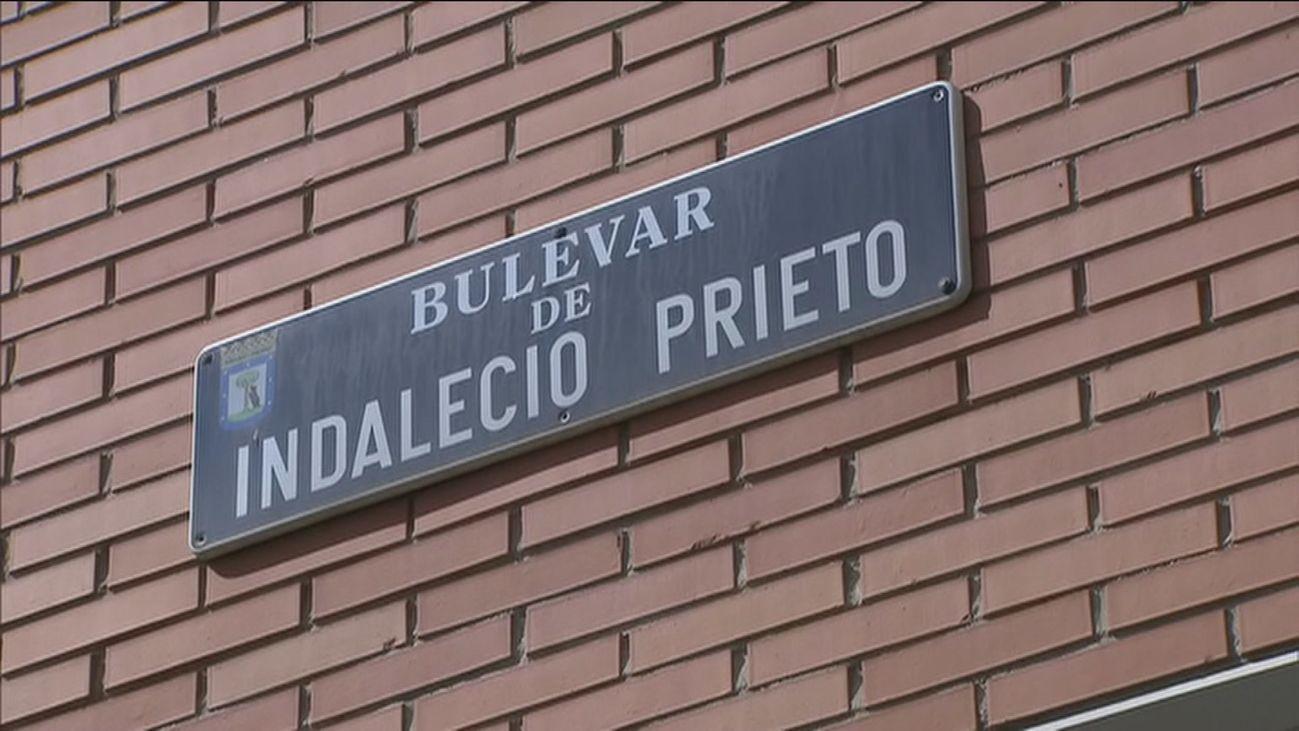 Bulevar Indalecio Prieto en Madrid