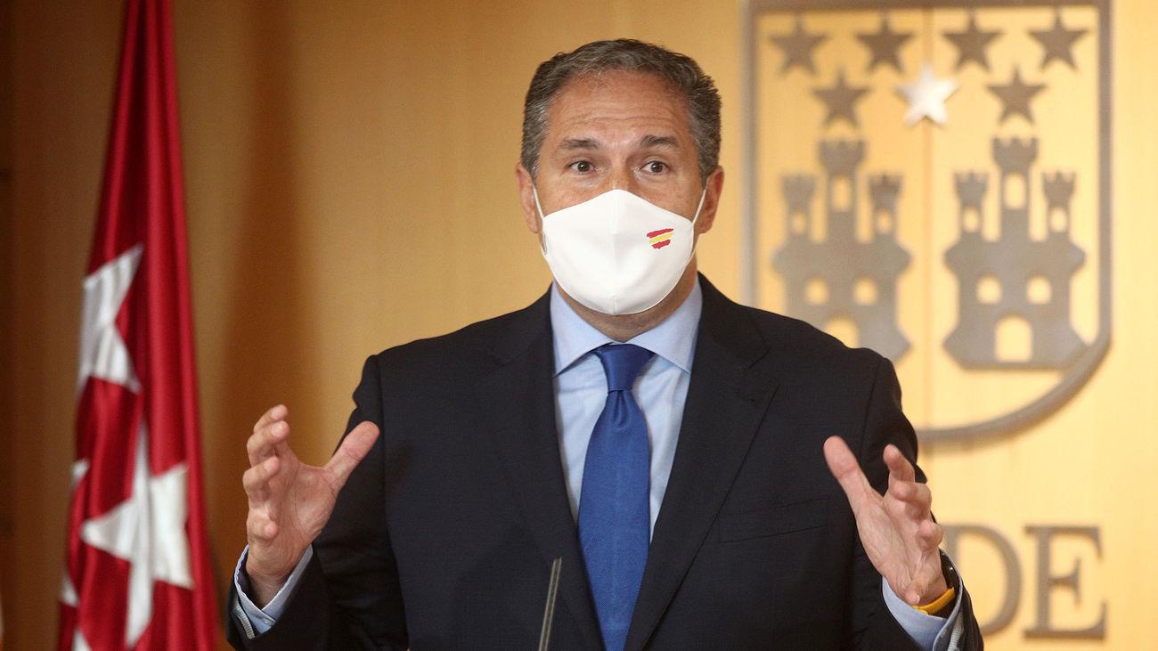 El portavoz adjunto del PSOE en la Asamblea de Madrid, José Cepeda