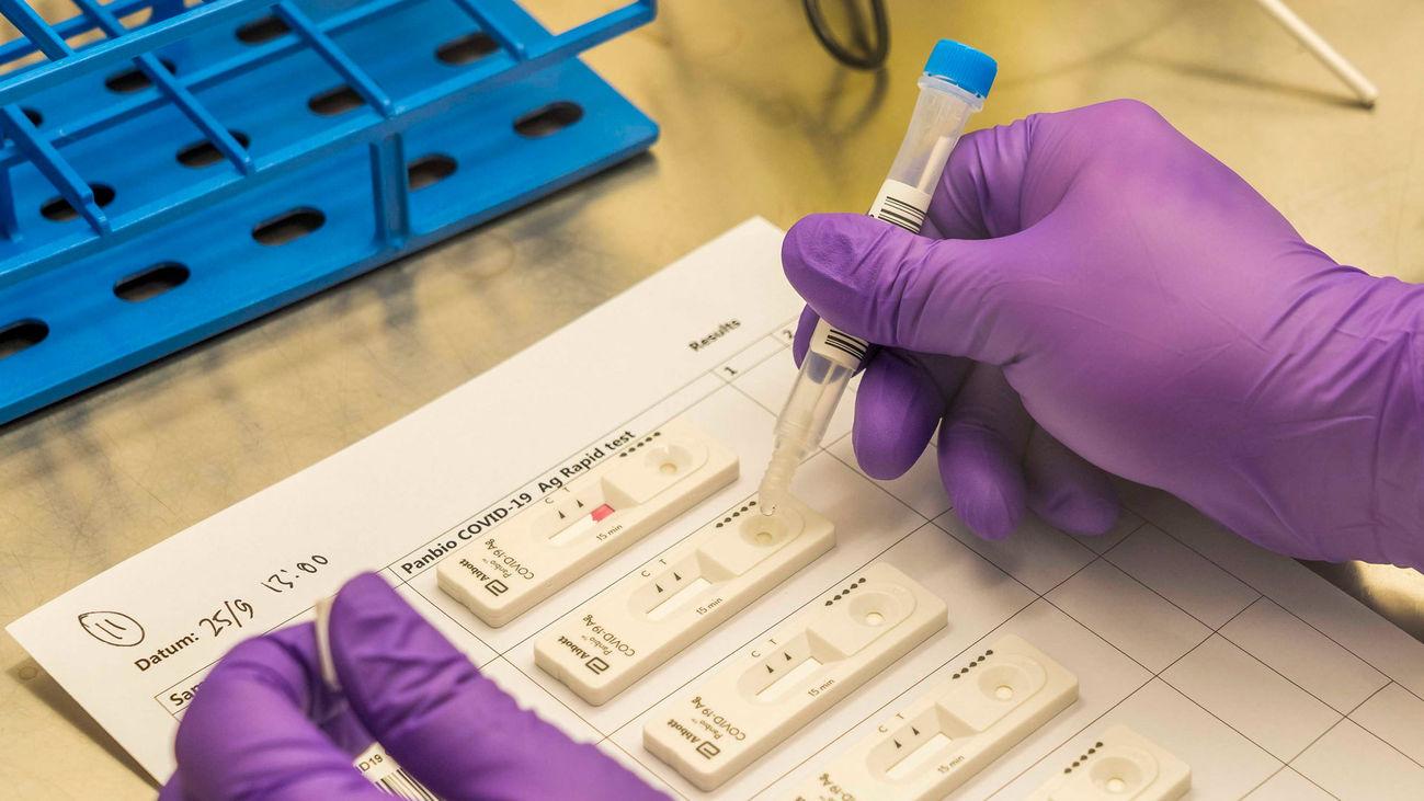 Test de antígenos para detectar el coronavirus