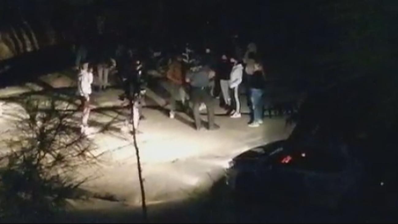 Un grupo de menores hacen botellón y se enfrentan a los vecinos y a la Guardia Civil en Paracuellos