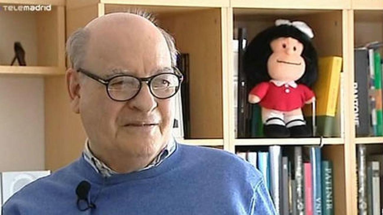 """Joaquín Salvador Lavado, conocido como """"Quino"""" por Mafalda, ha fallecido"""