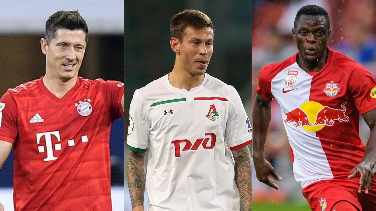 Bayern, Salzburgo y Lokomotiv