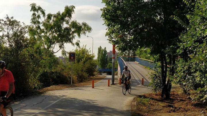 Aravaca quiere romper su 'aislamiento' con un carril bici que les una a Madrid
