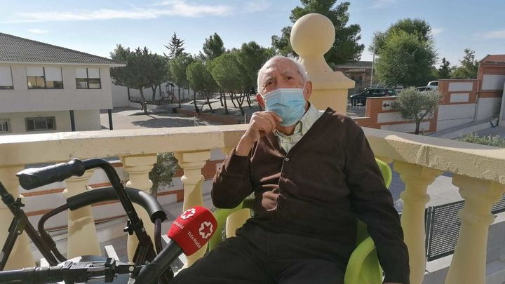 'Palabras mayores', la pandemia vista desde una  residencia de Navalcarnero