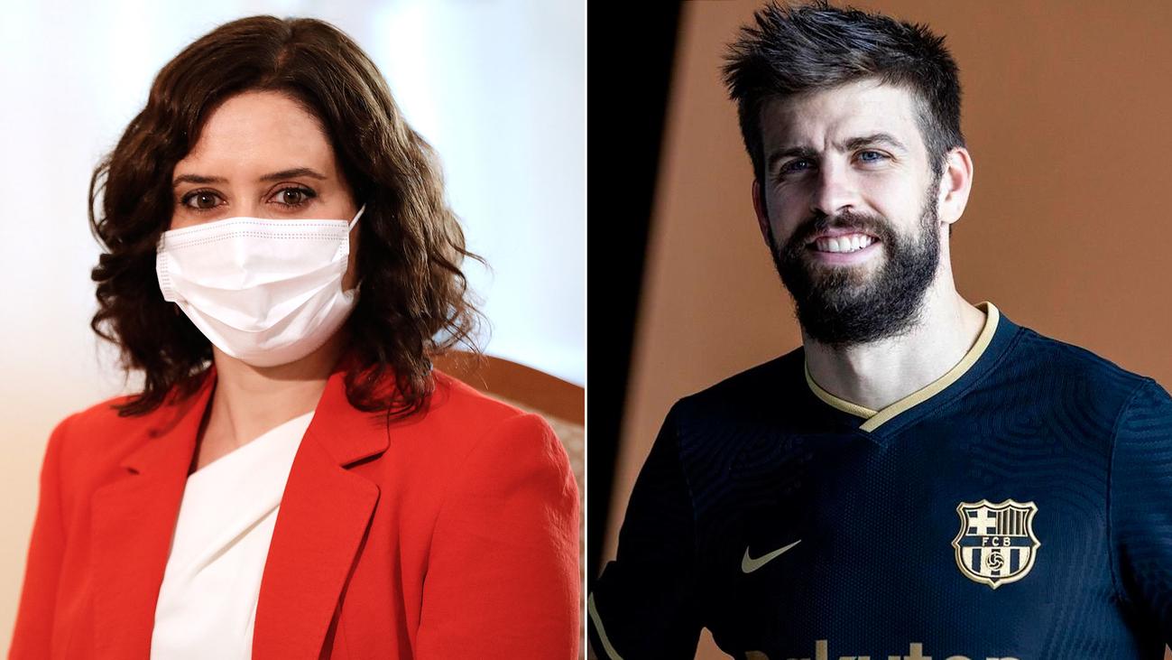 Ayuso pidió ayuda a Gerard Piqué para conseguir material sanitario para Madrid