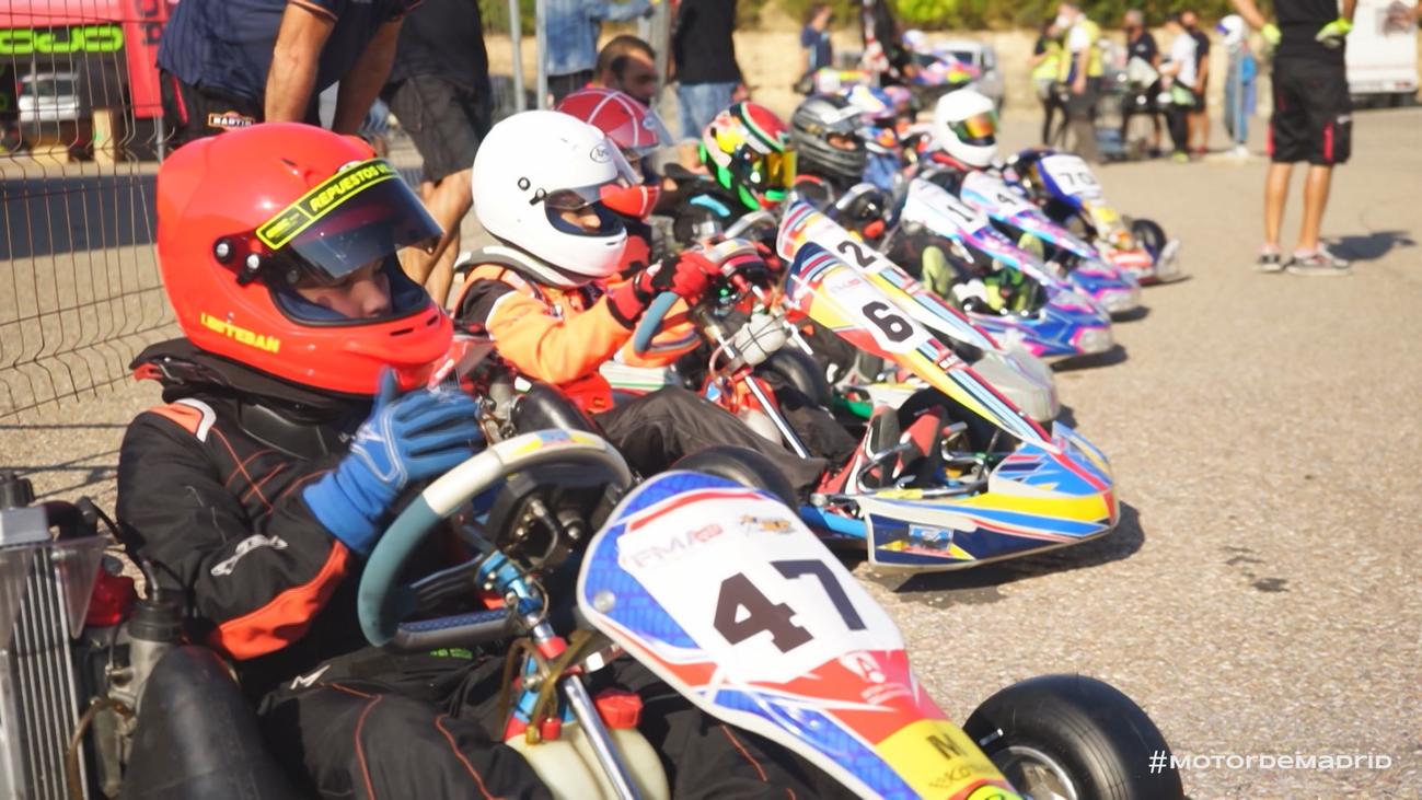 El Campeonato Madrileño de Karting se ve obligado a disputarse en Kotarr, Burgos
