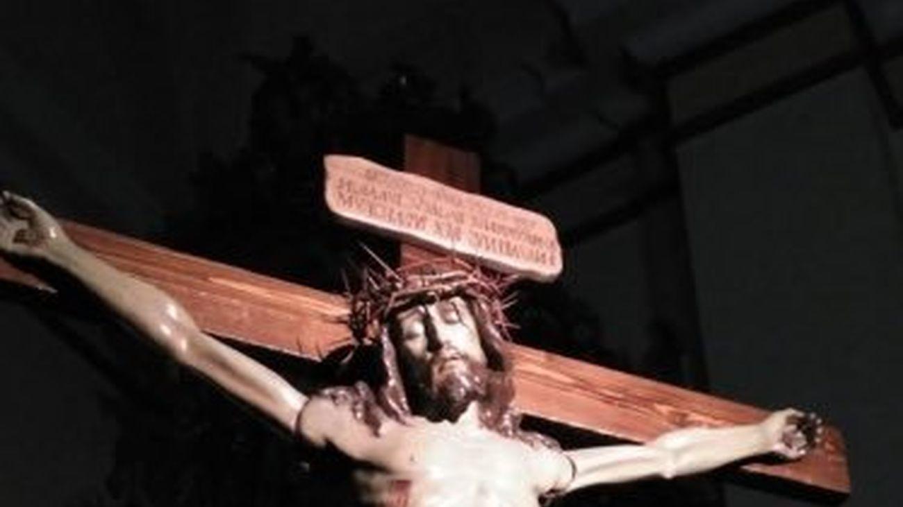 La iglesia de San Salvador de Leganés podría cerrar al culto para restaurar su cúpula.