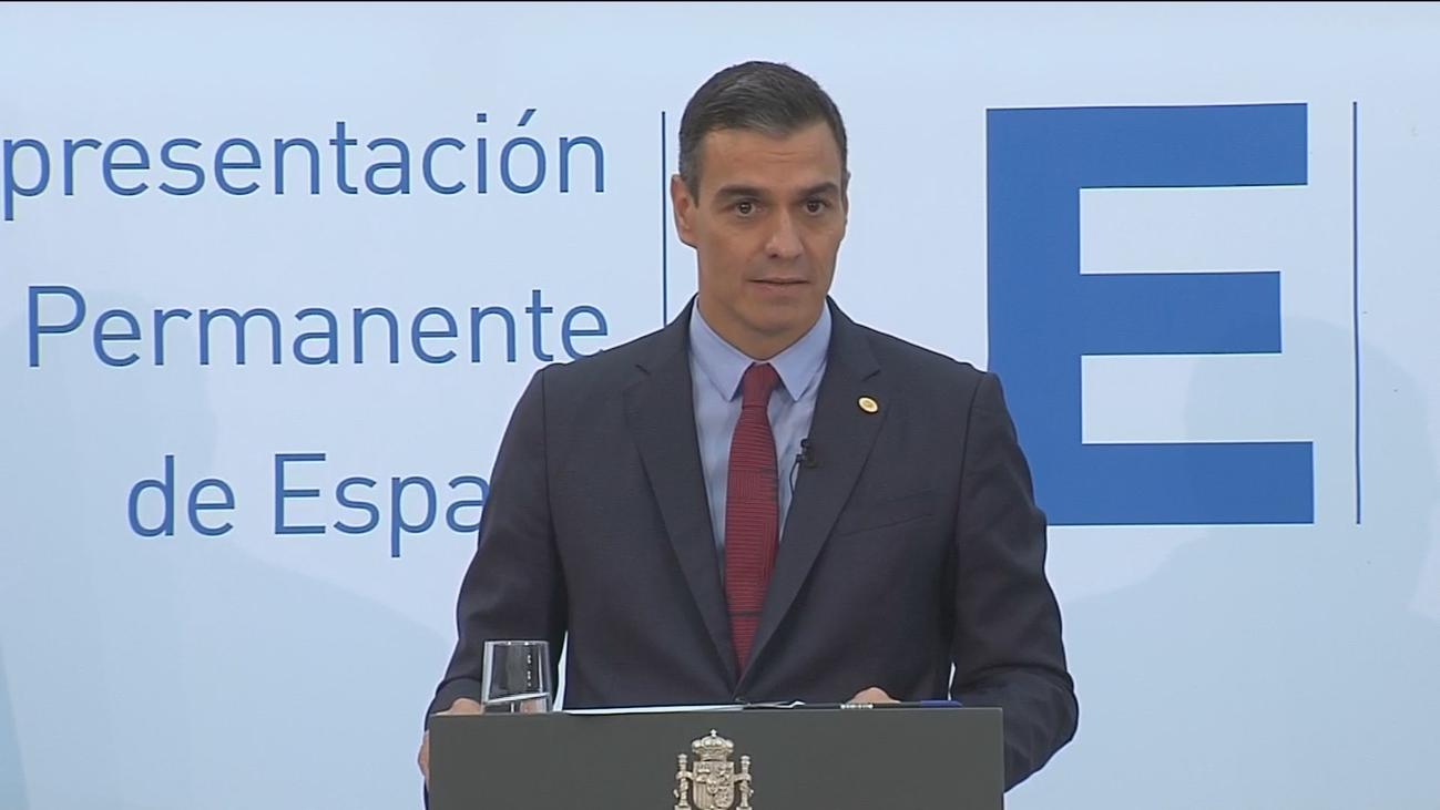 """Sánchez califica de """"extraordinaria gravedad"""" la situación de Madrid y niega invasión de competencias"""