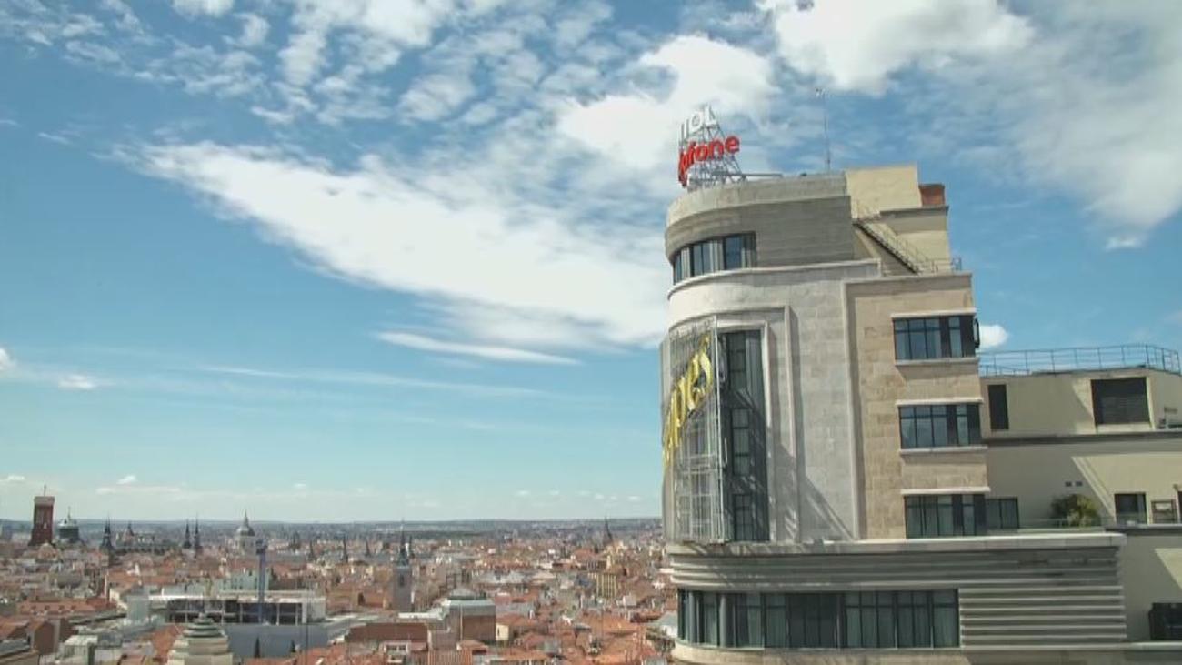 Una casa con vistas al edificio 'Schweppes' en plena Gran Vía