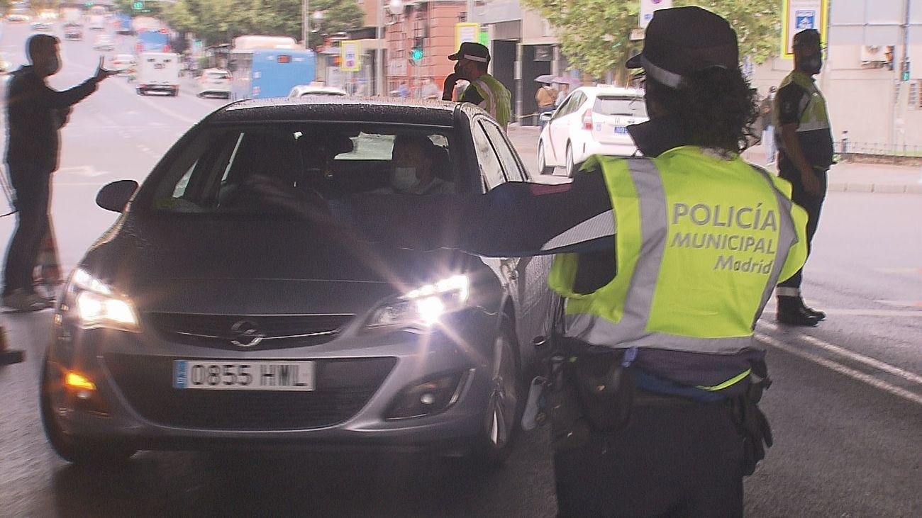Normalidad con controles aleatorios en el primer día con restricciones en Madrid
