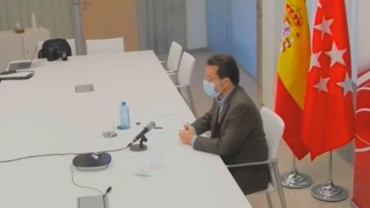 Lasquetty defiende la fortaleza del Gobierno regional tras la dimisión de Reyero