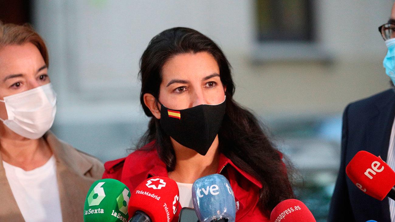 Vox pide medidas cautelarísimas para suspender las restricciones en Madrid