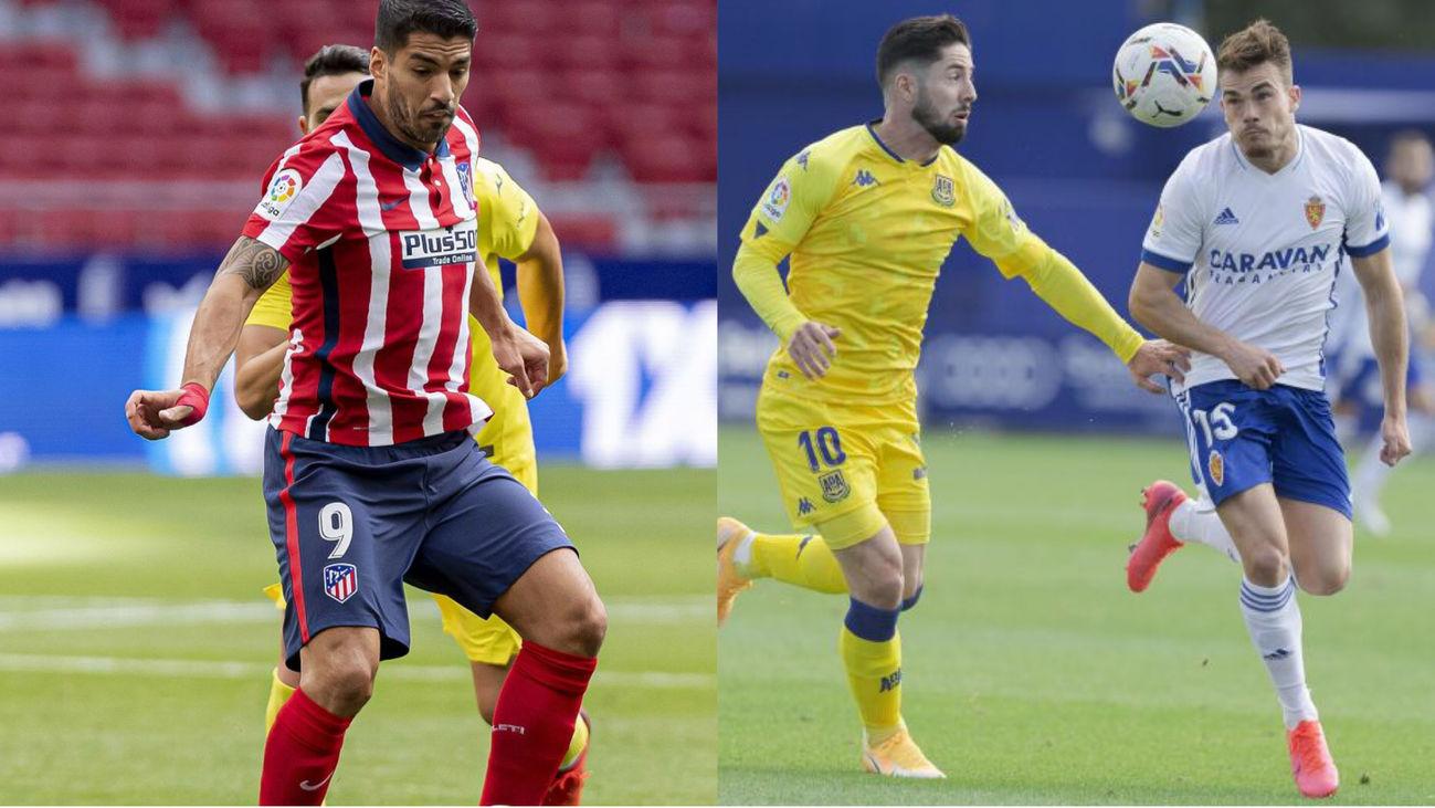 Atlético-Villarreal y Alcorcón-Zaragoza