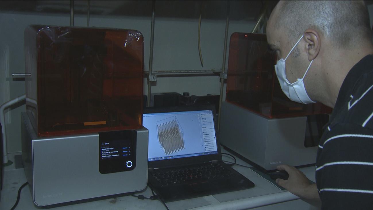 El CSIC facilita protocolos para fabricar productos sanitarios con impresoras 3D en tiempos de escasez