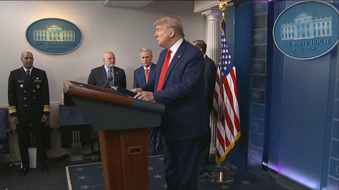 """Trump: """"no me sentía muy bien, pero ahora me encuentro mucho mejor"""""""