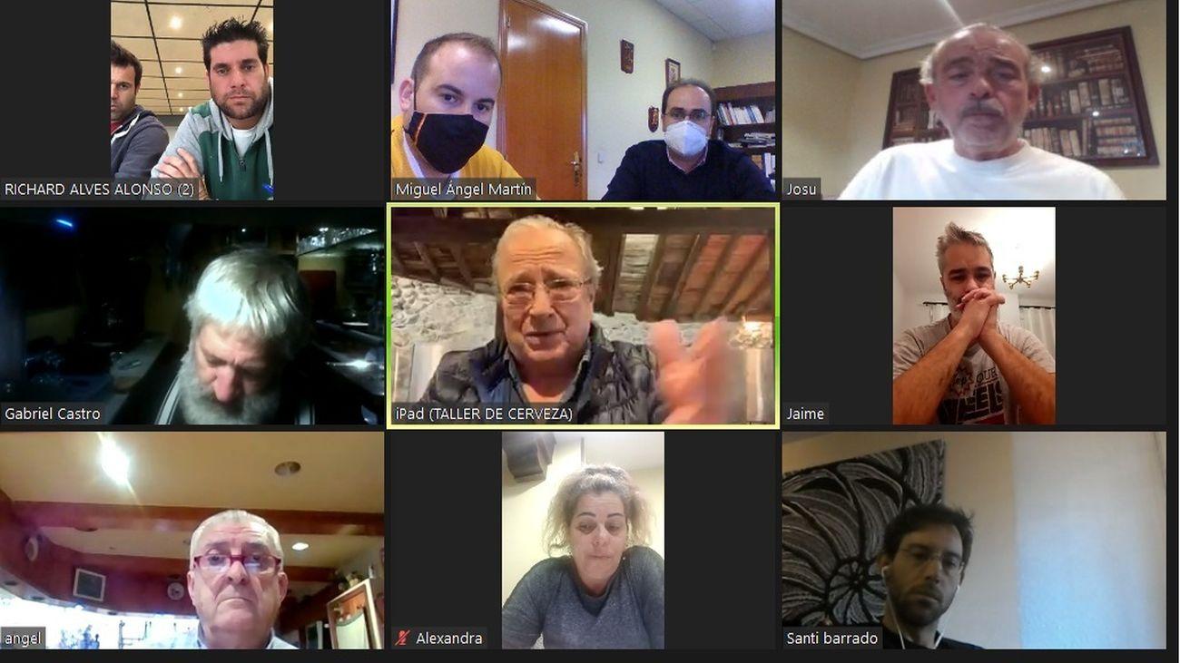 Videoconferencia municipal con los hosteleros de Los Molinos